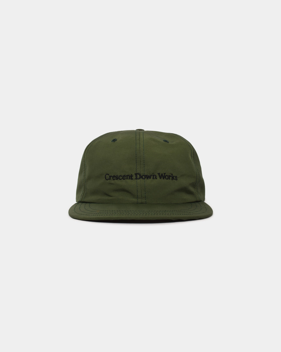 Embroidered Cap - Olive
