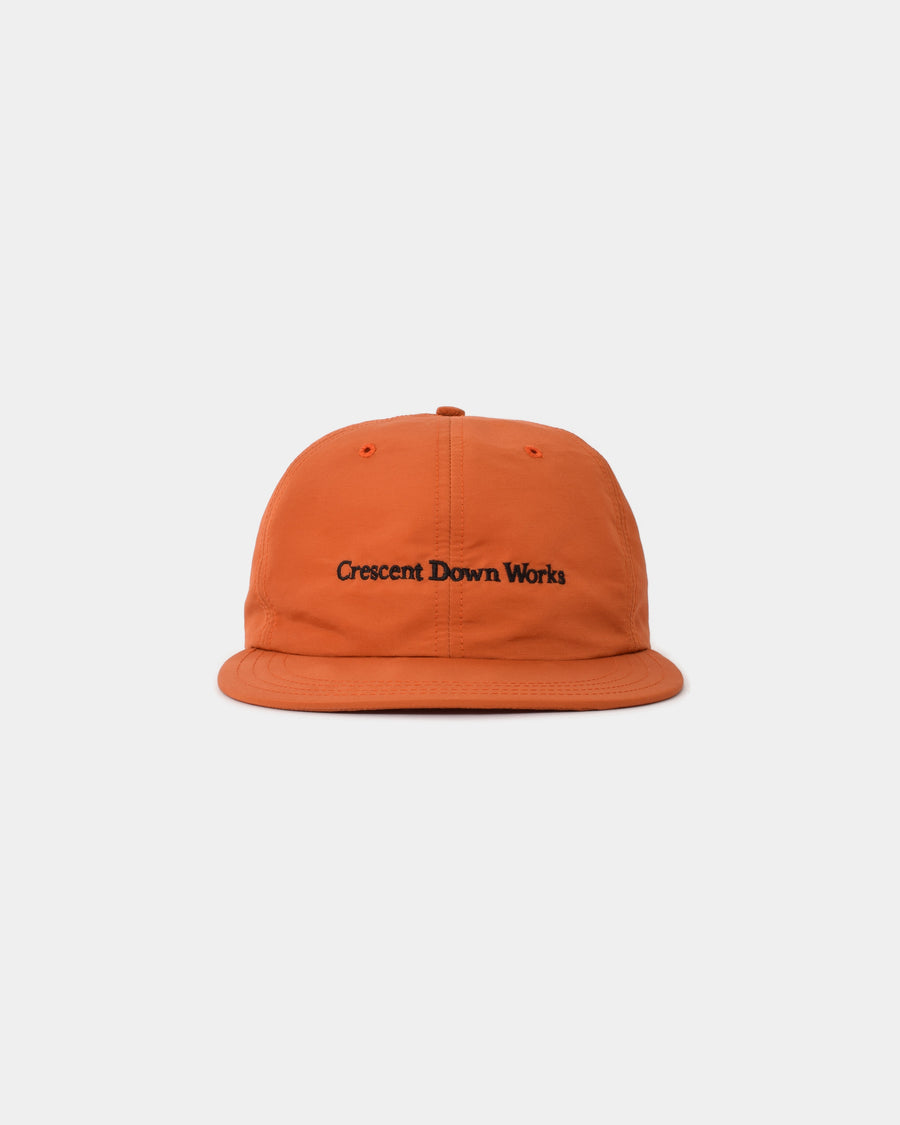 Embroidered Cap - Rust