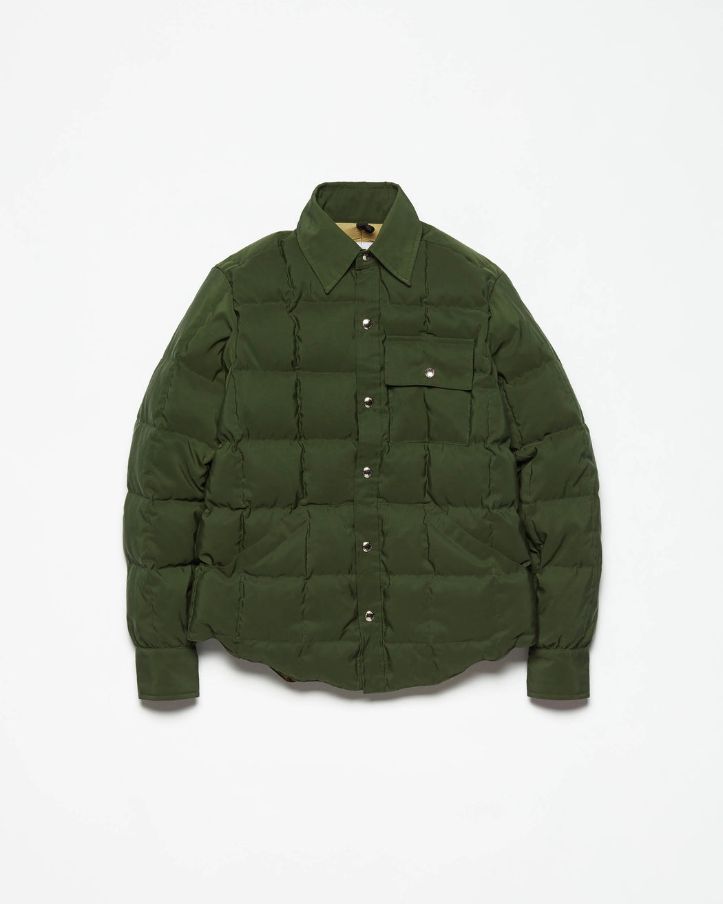 Down Shirt - Olive