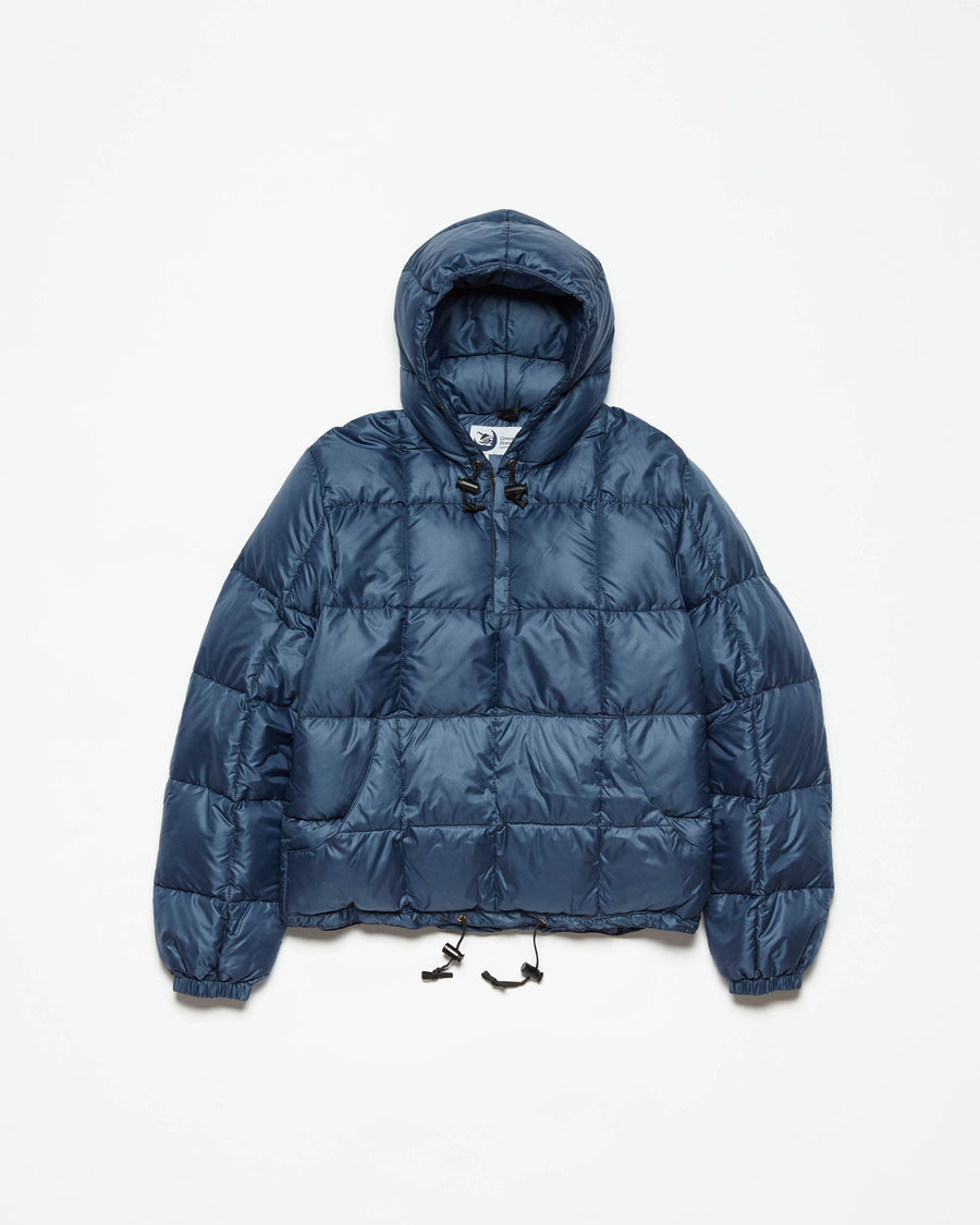 Hooded Pullover - Navy