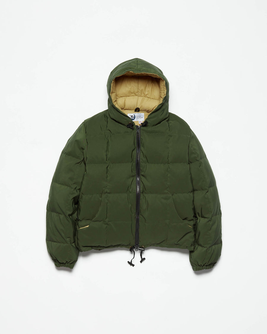 Hooded Sweatshirt - Olive
