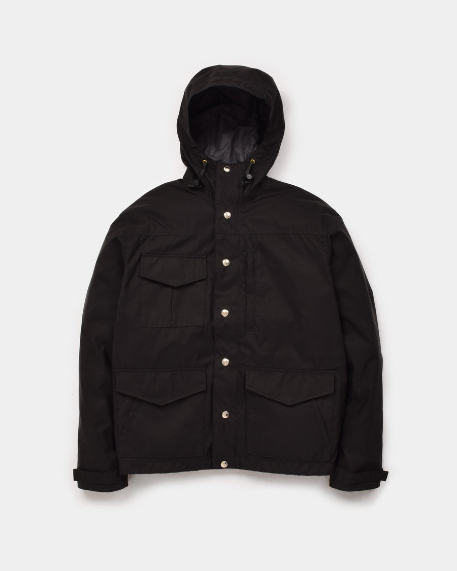 Michi Jacket in Black showing the front