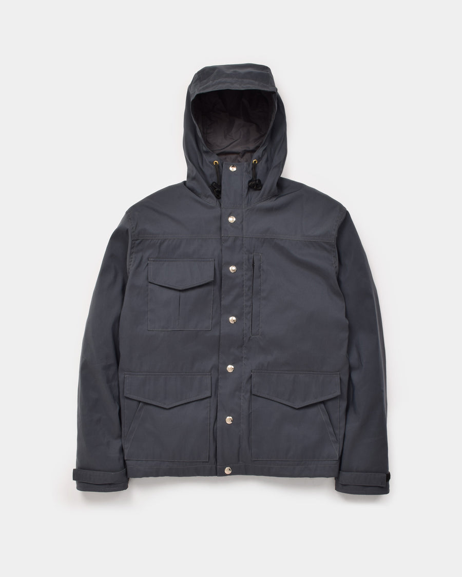 Michi Jacket in Charcoal showing the front