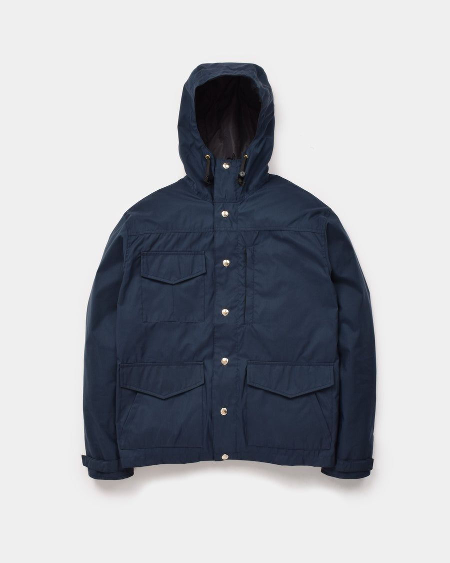 Michi Jacket in Navy showing front of jacket