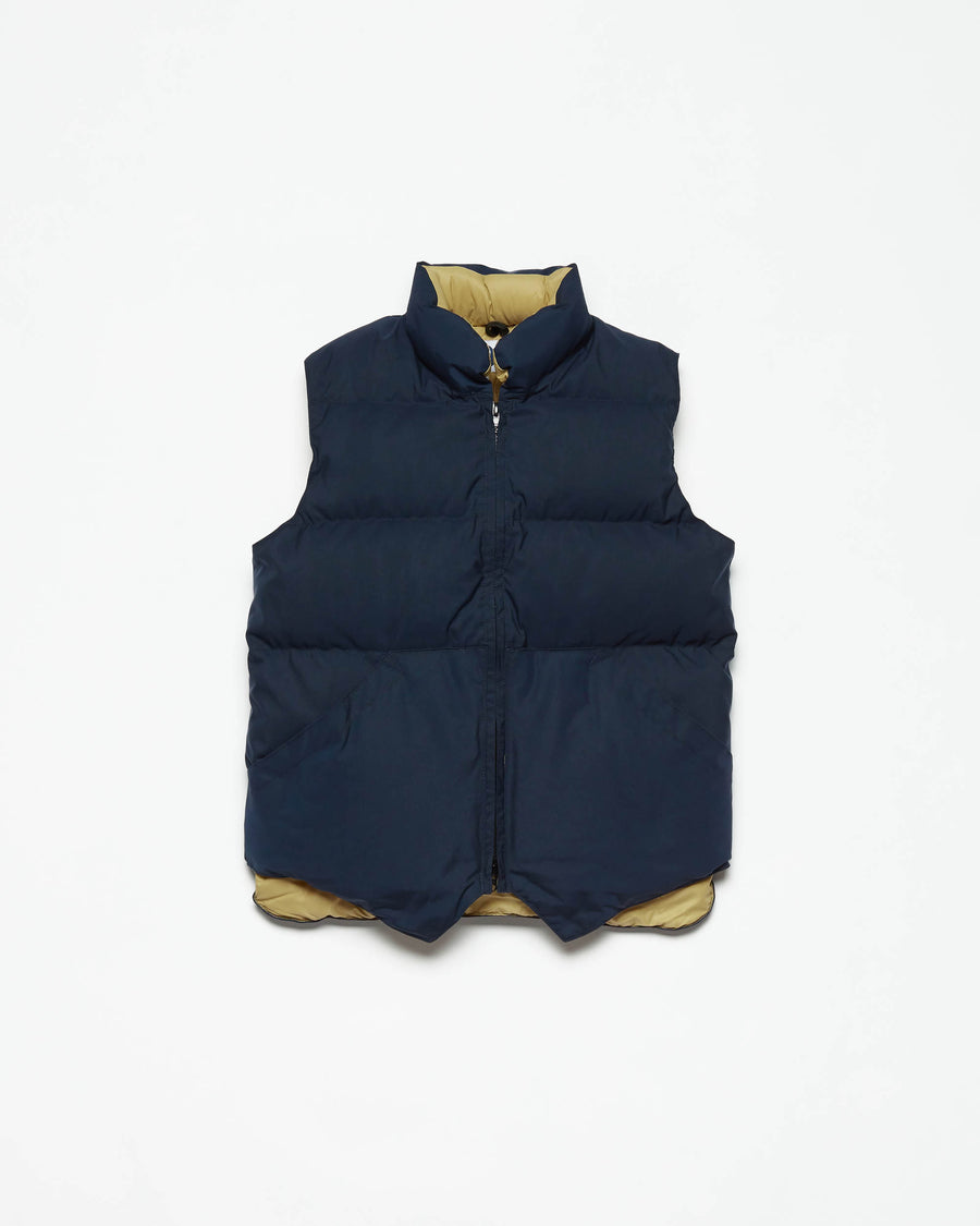 North by Northwest Vest - Navy 60/40