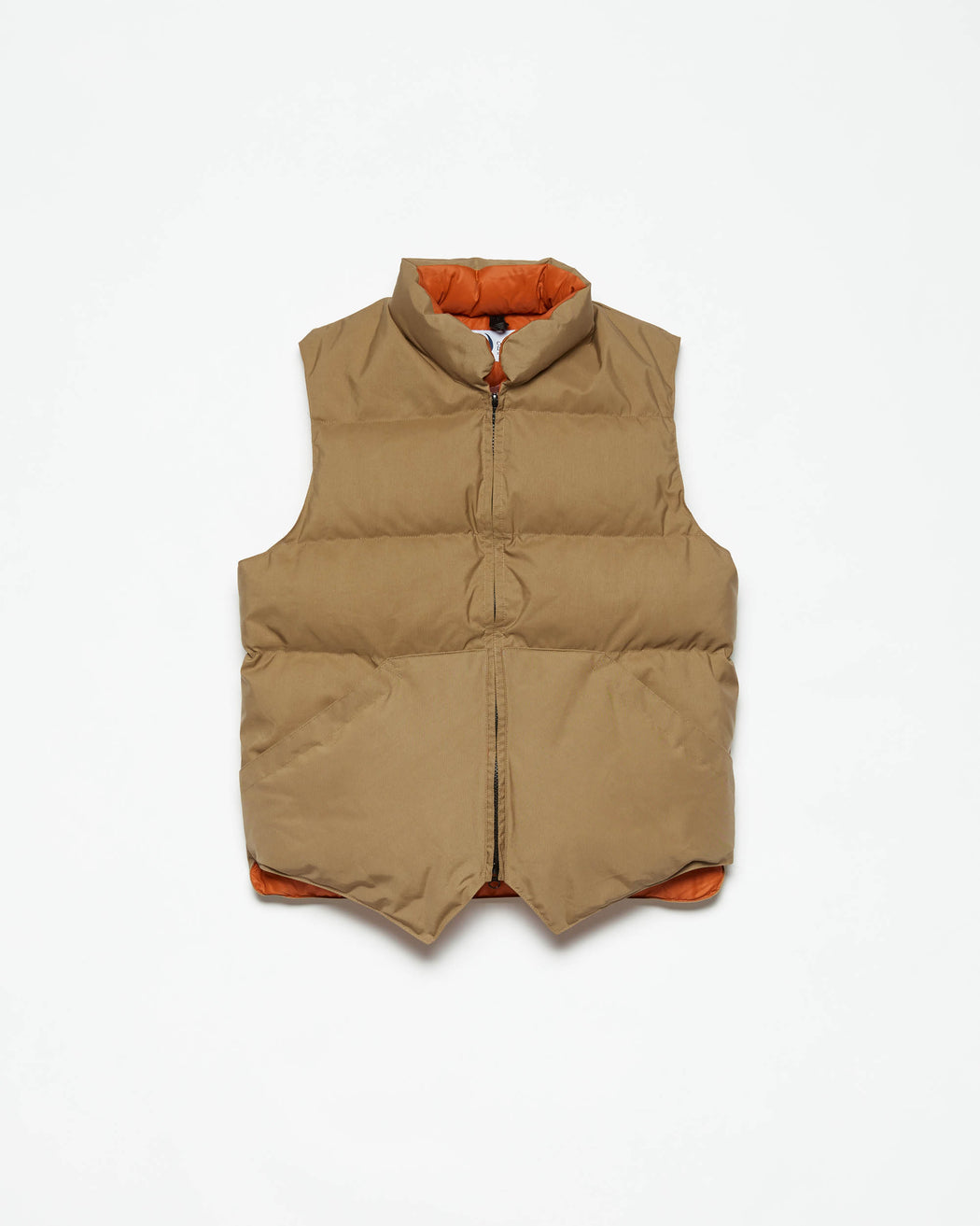 North by Northwest Vest - Tan & Rust 60/40
