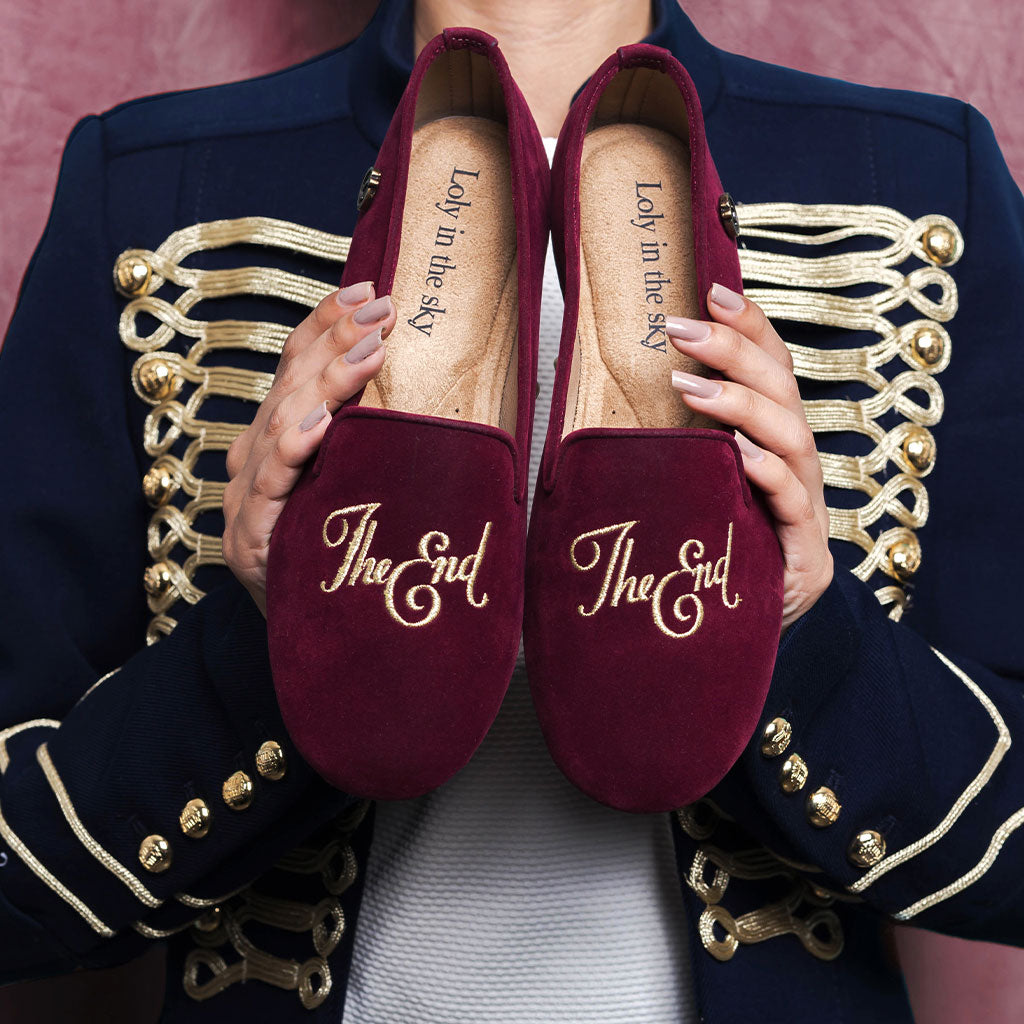 HUDSON | LOAFER VINO PARA MUJER | LOLY IN THE SKY
