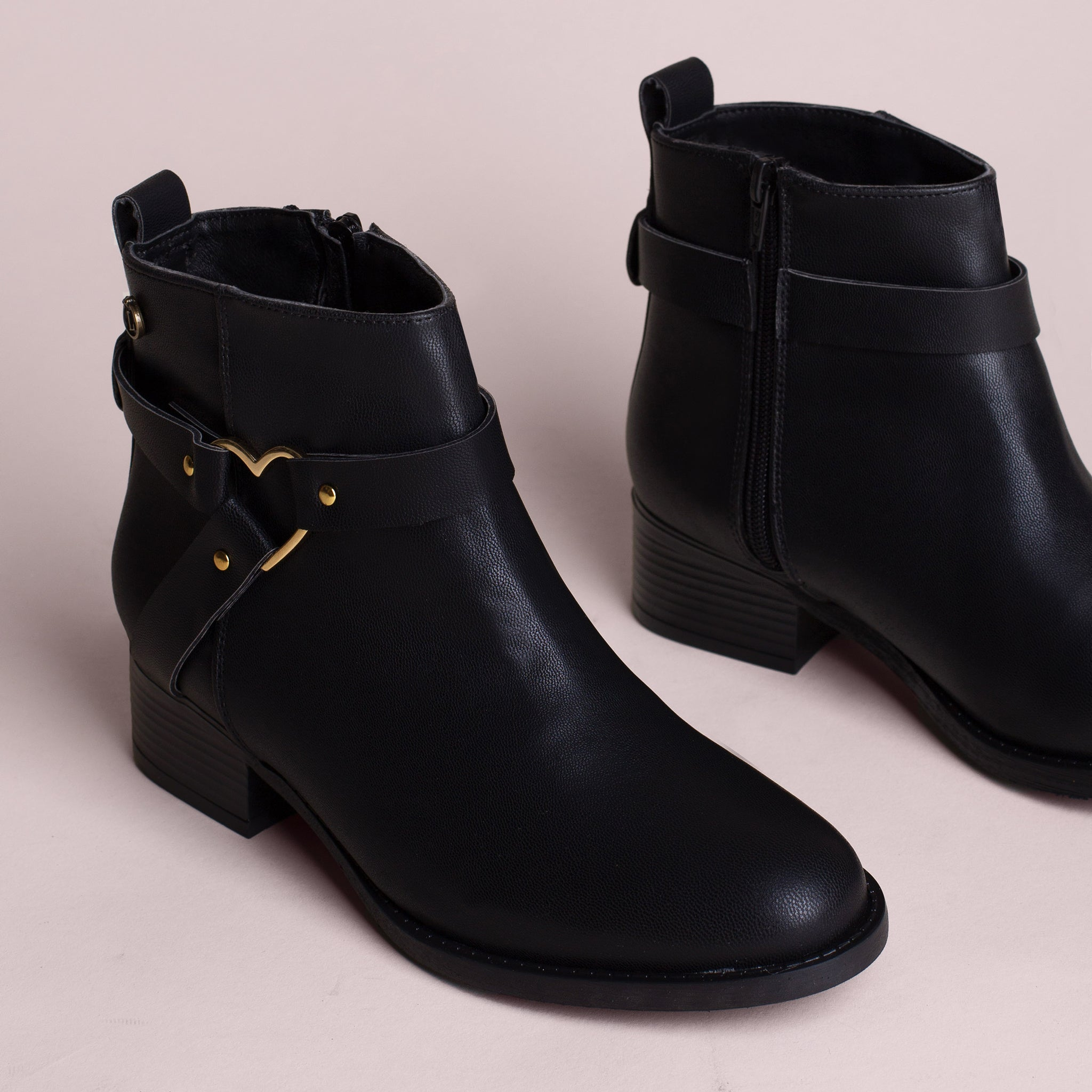 JOLENE | BOTINES NEGROS PARA MUJER | LOLY IN THE SKY
