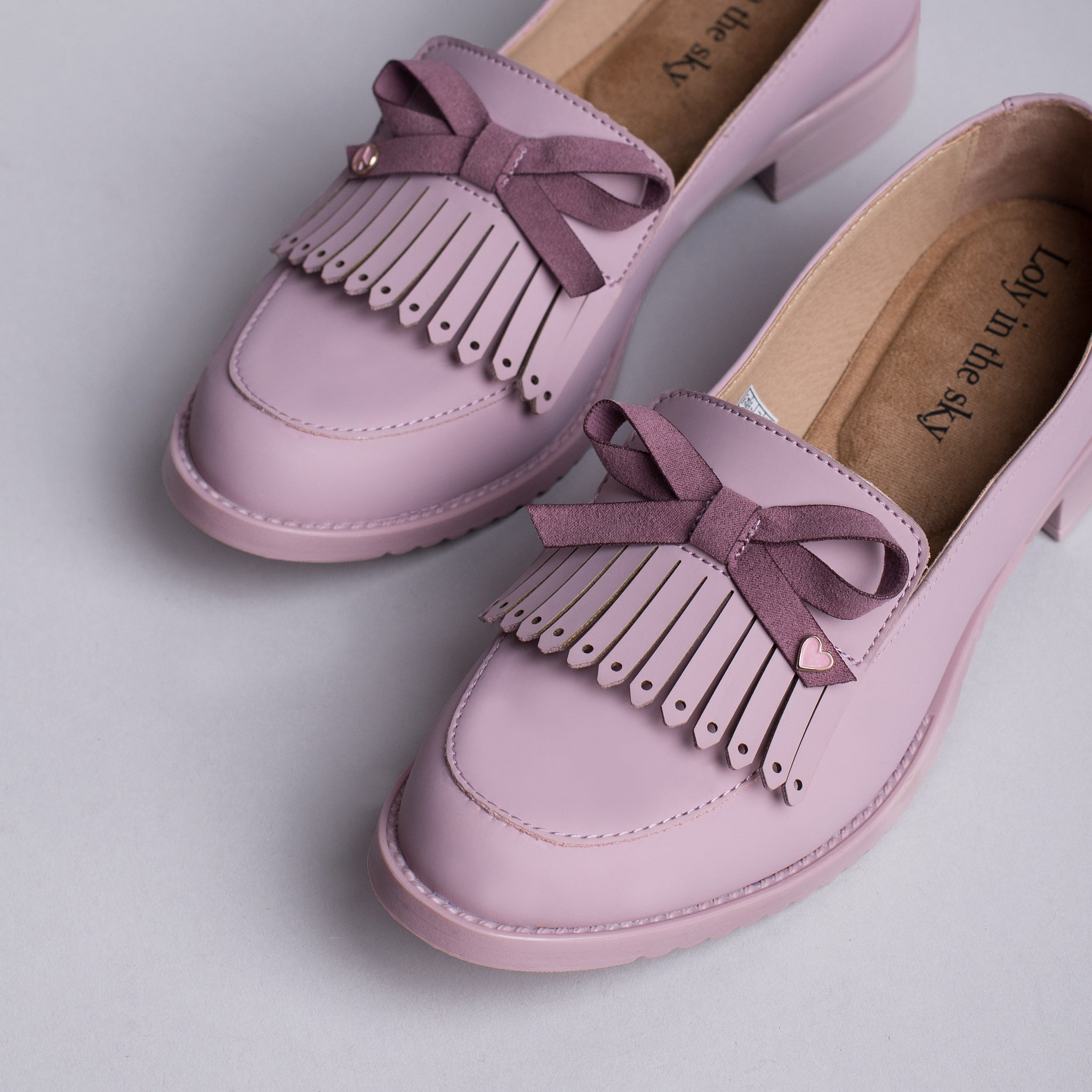 GIANNA | LOAFERS ROSA PARA MUJER | LOLY IN THE SKY