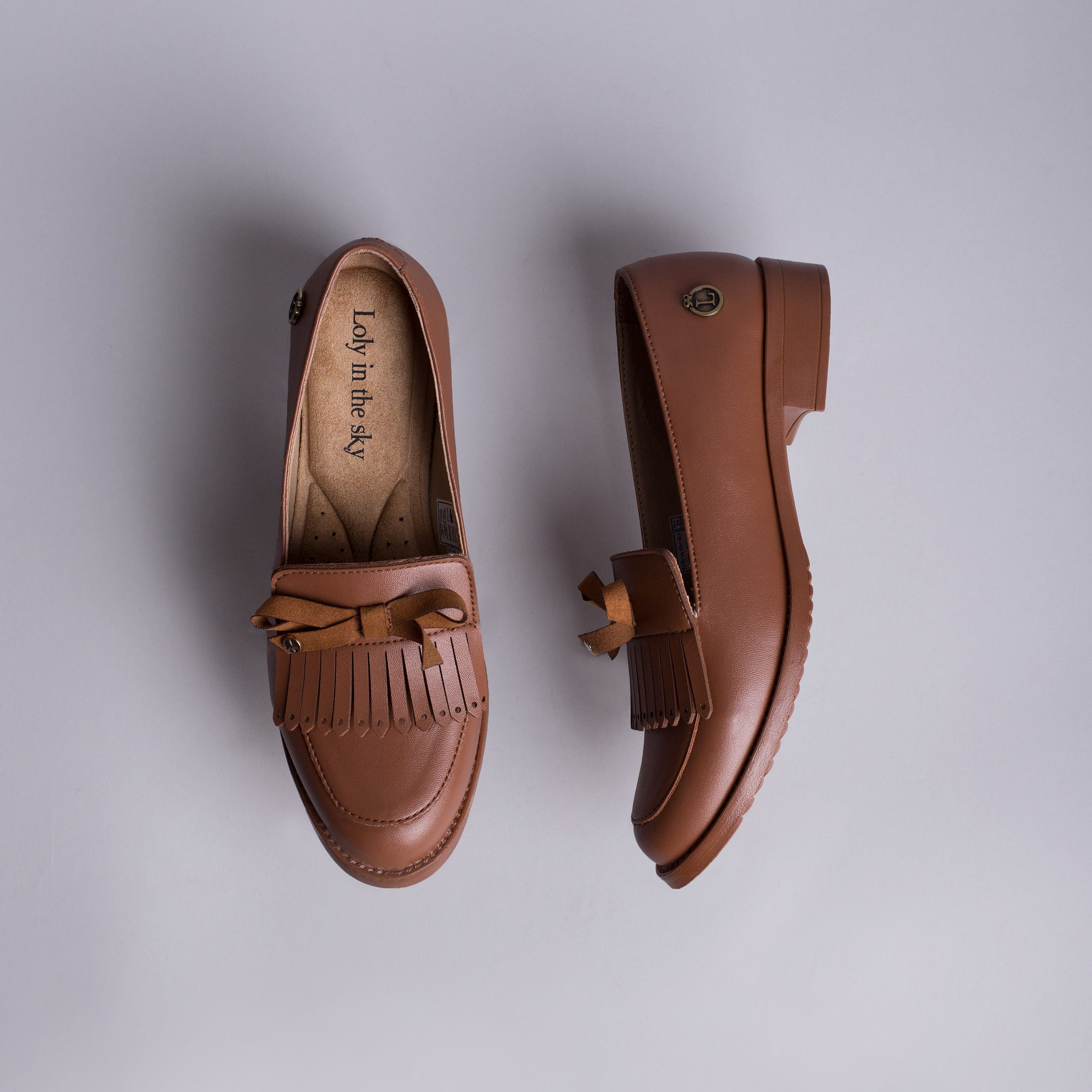 MALIA | LOAFERS CAFE PARA MUJER | LOLY IN THE SKY