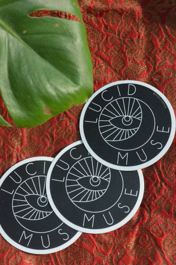 Lucid Muse Logo Sticker