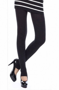 Highwaist Seamless Thick Winter Leggings - IBL Fashion - 9