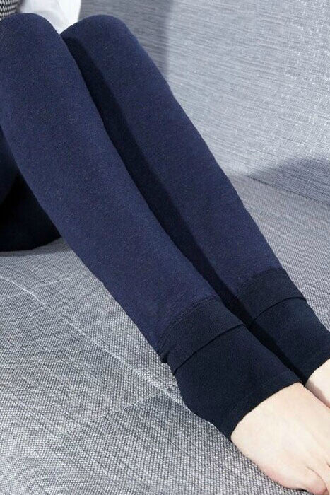 Highwaist Seamless Thick Winter Leggings - IBL Fashion - 12