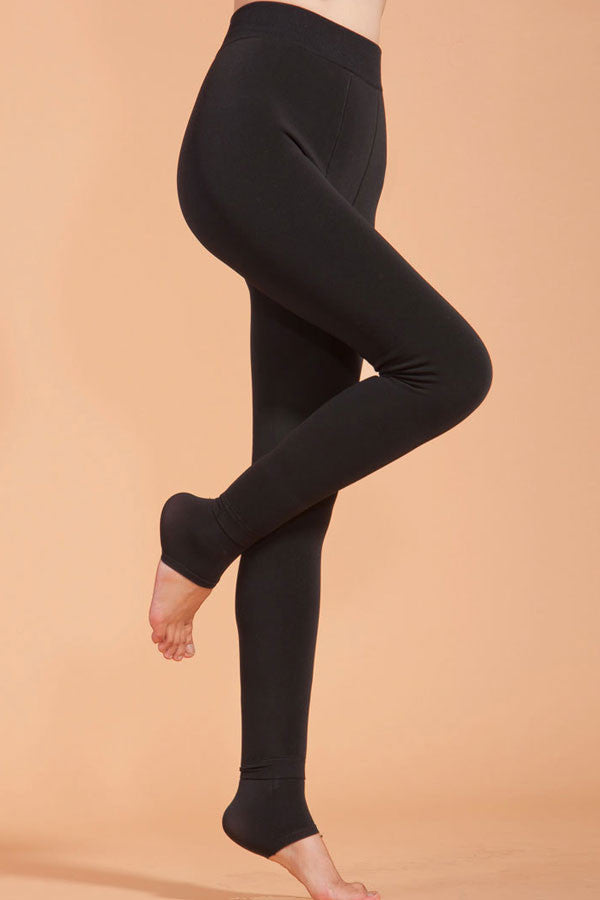 Highwaist Seamless Thick Winter Leggings - IBL Fashion - 8