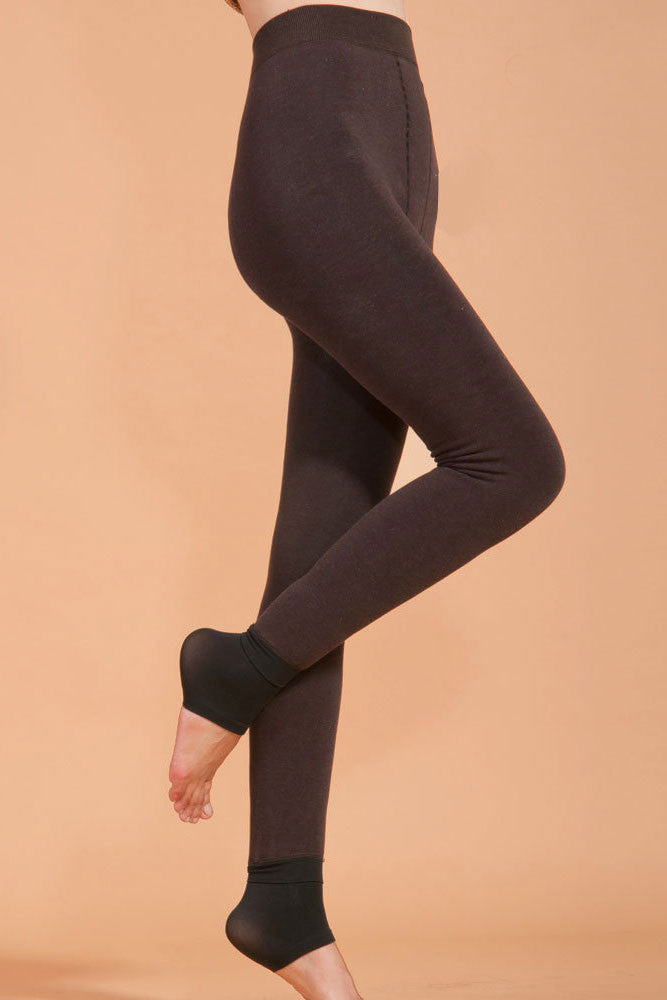 Highwaist Seamless Thick Winter Leggings - IBL Fashion - 13