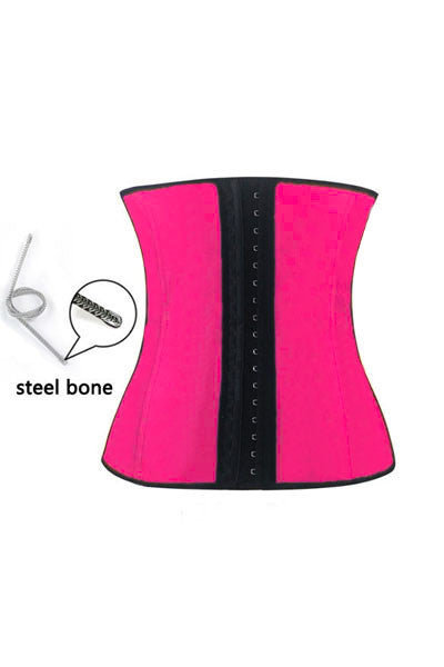 Latex Steel Boned Waist Training Corset (Equivalent  to Ann Chery) - IBL Fashion - 16
