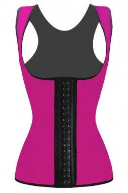 Latex 3 Hook Long Sport Vest Body Shaper (Equivalent  to Ann Chery) - IBL Fashion - 1