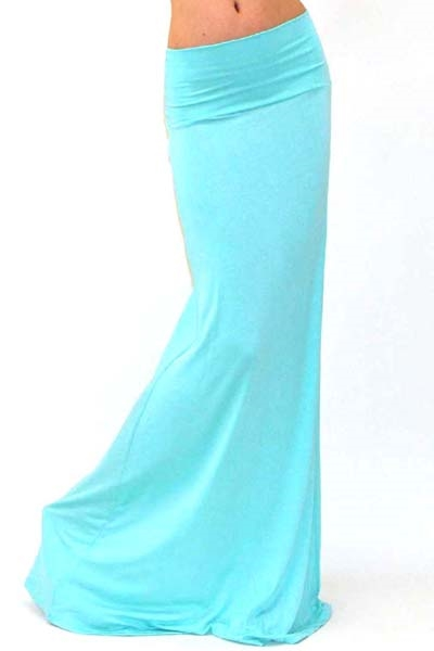 High Waist Maxi Skirt - IBL Fashion