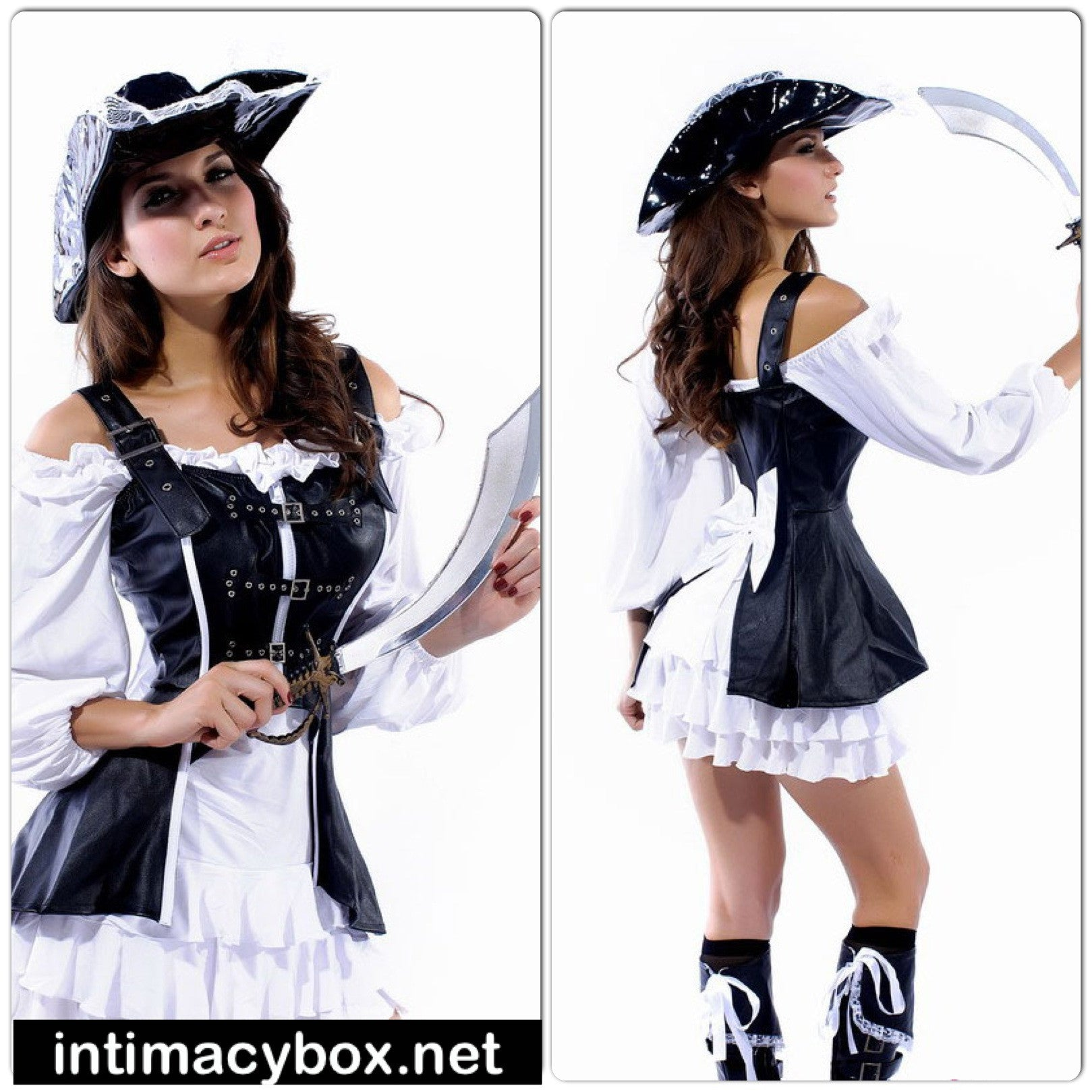 Sexy Pirate Maiden Costume - IBL Fashion - 1