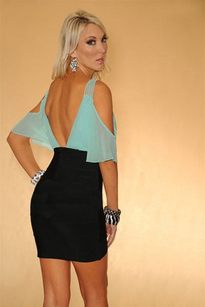 InStock Sexy Chic Bandage Dress - IBL Fashion - 4