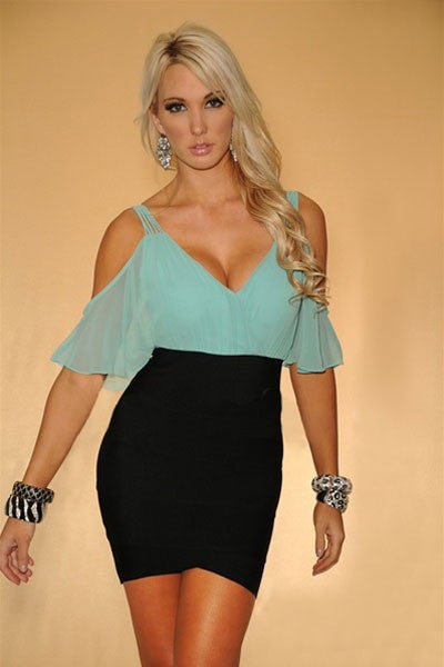 InStock Sexy Chic Bandage Dress - IBL Fashion - 1