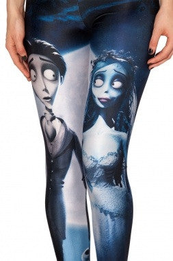 Corpse Bride Leggings - IBL Fashion - 5