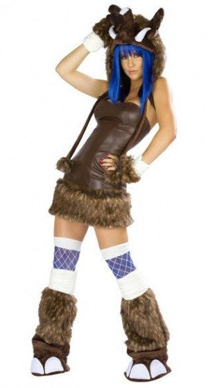 Deluxe Woolly Mammoth  Costume - IBL Fashion - 1