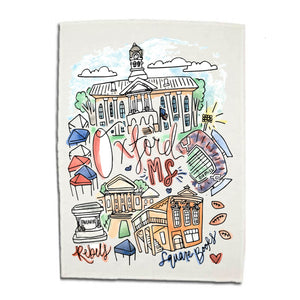 Oxford Dishtowel