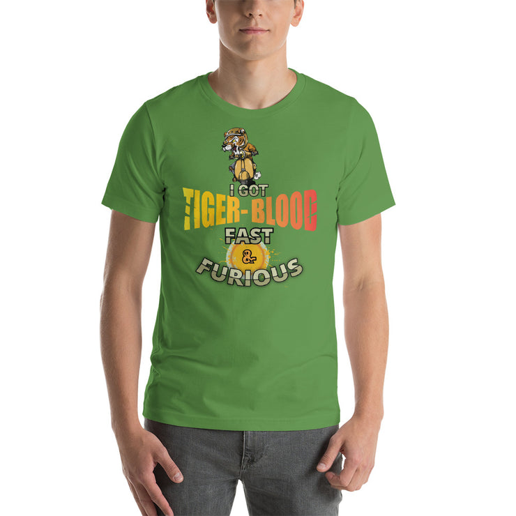 Tiger Blood - Short-Sleeve Unisex T-Shirt