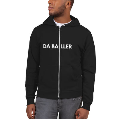 Da Baller Black, Zipper - Hoodie sweater