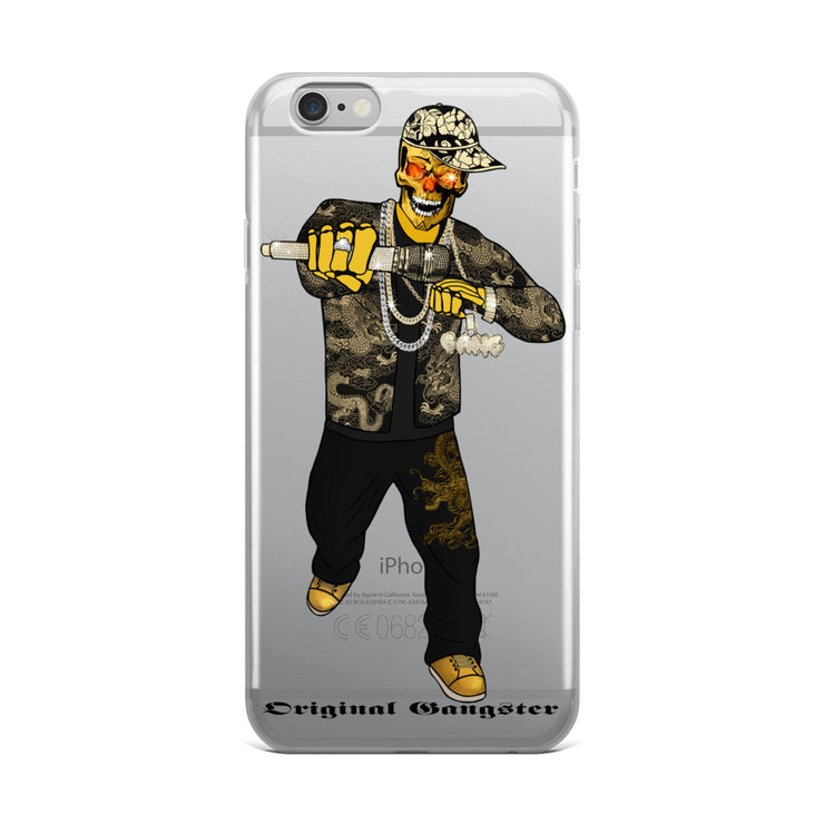 The Original Gangster Skull - iPhone Case