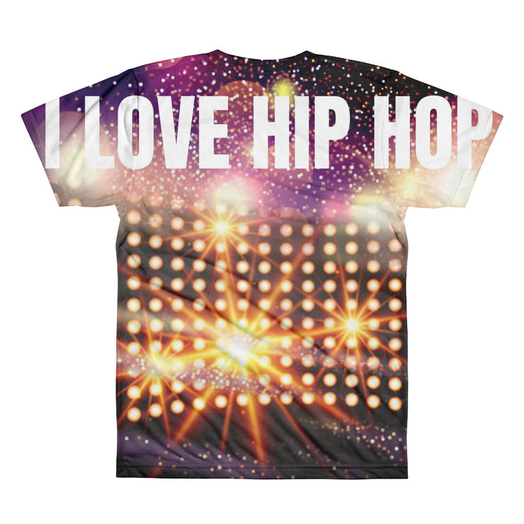 I LOVE HIP HOP - RAPPER BULLY - Short sleeve men's t-shirt