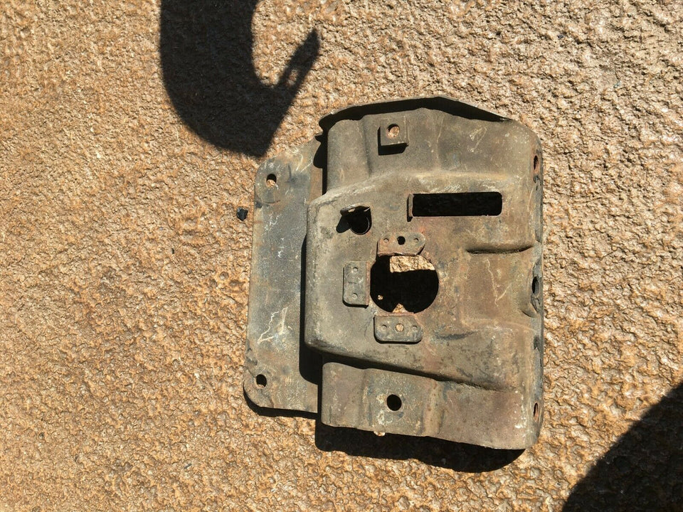 1971 and 1972 Chevelle Hood Catch and Lock Plate