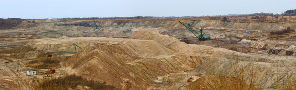 Baltic amber mine in Kaliningrad