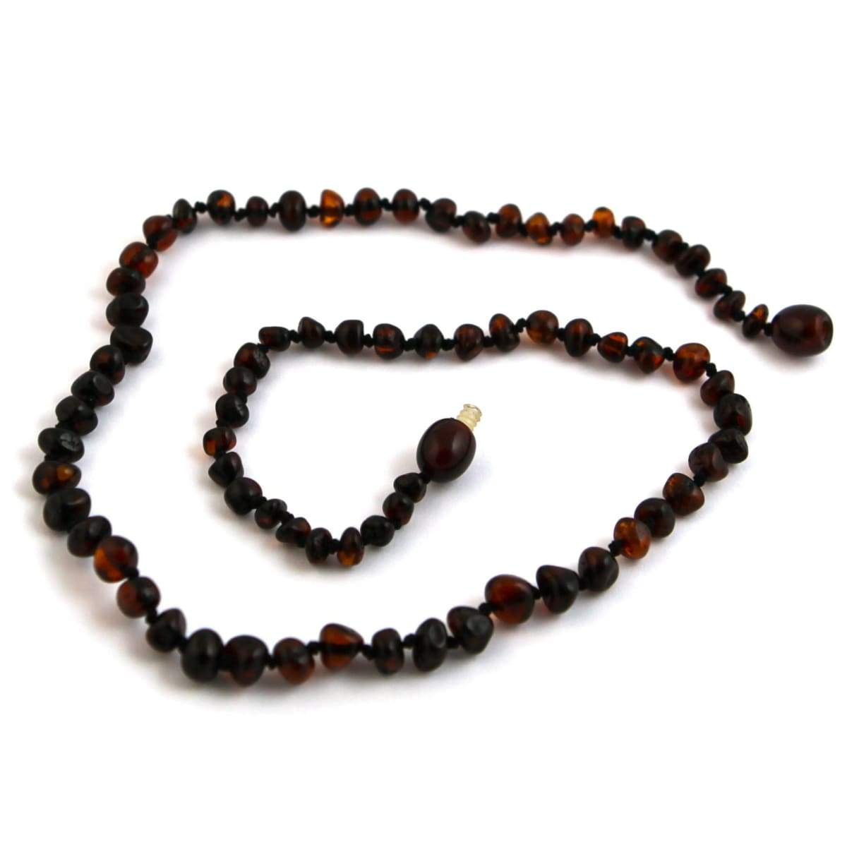 Baltic Amber Dark Cherry - 16 Necklace - Baltic Amber Jewelry