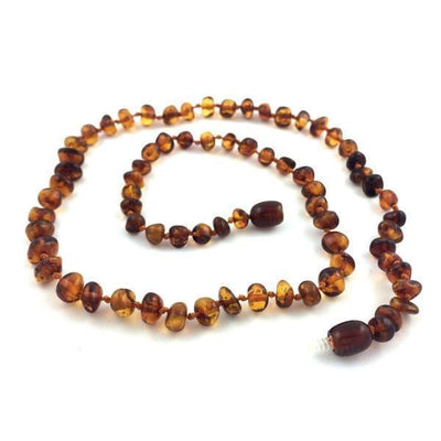 Baltic Amber Dark Cognac - 16 Necklace - Baltic Amber Jewelry