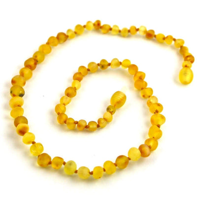 Baltic Amber Lemondrop - 16 Necklace - Baltic Amber Jewelry