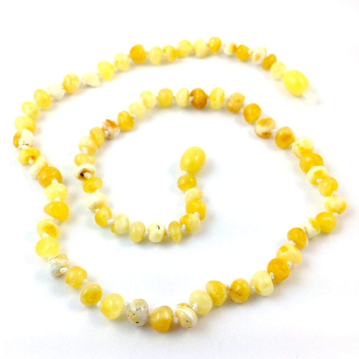 Baltic Amber Milk & Butter - 16 Necklace - Baltic Amber Jewelry