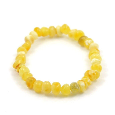 Baltic Amber Milk & Butter - 7 Bracelet - Baltic Amber Jewelry