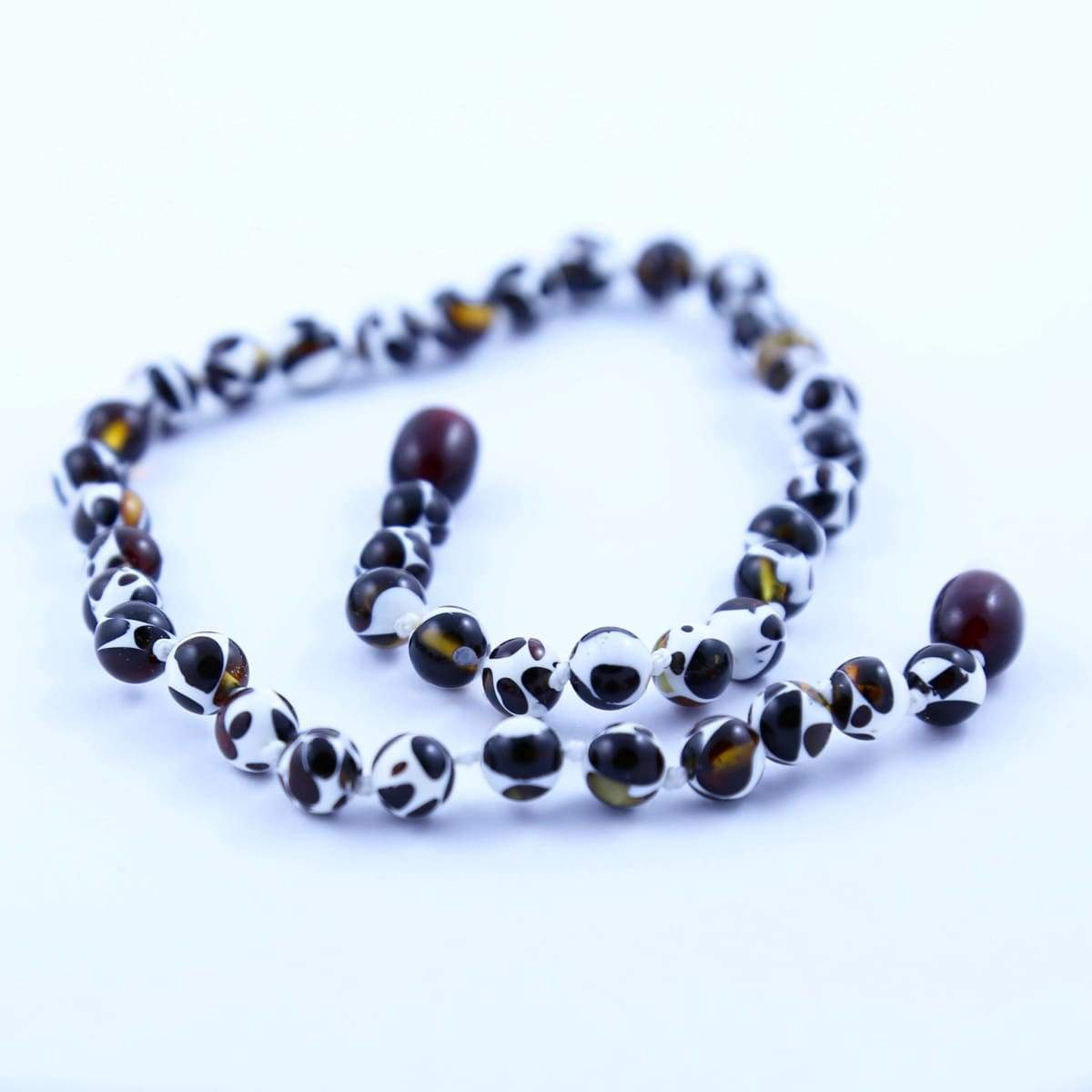 Baltic Amber Mosaic - 14 Necklace - Twist Clasp - Baltic Amber Jewelry
