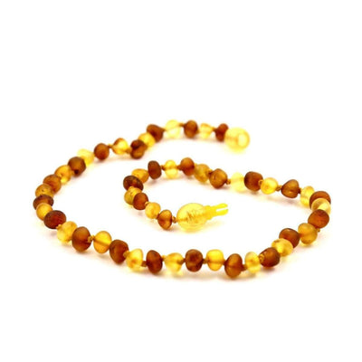 Baltic Amber Nutmeg & Lemondrop - 12 Necklace - Pop Clasp - Baltic Amber Jewelry