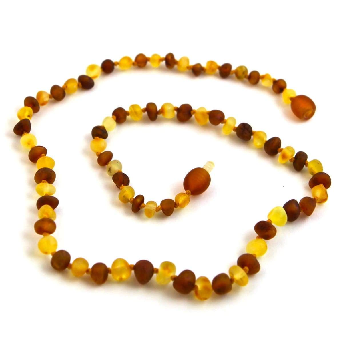 Baltic Amber Nutmeg & Lemondrop - 16 Necklace - Baltic Amber Jewelry