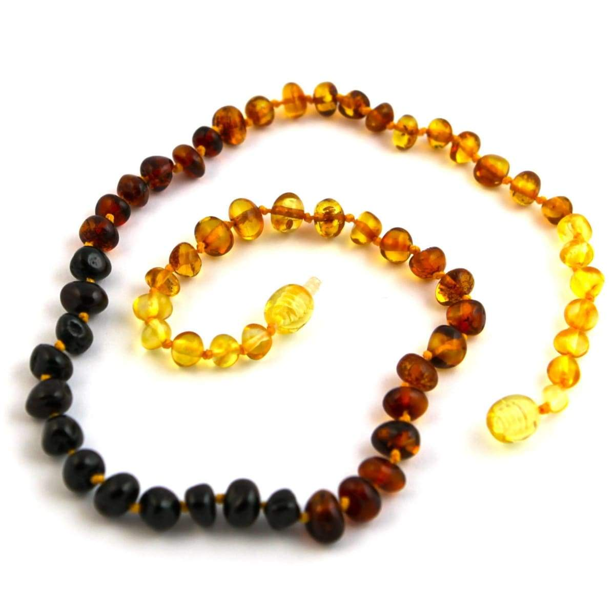 Baltic Amber Rainbow Round - 16 Necklace - Baltic Amber Jewelry