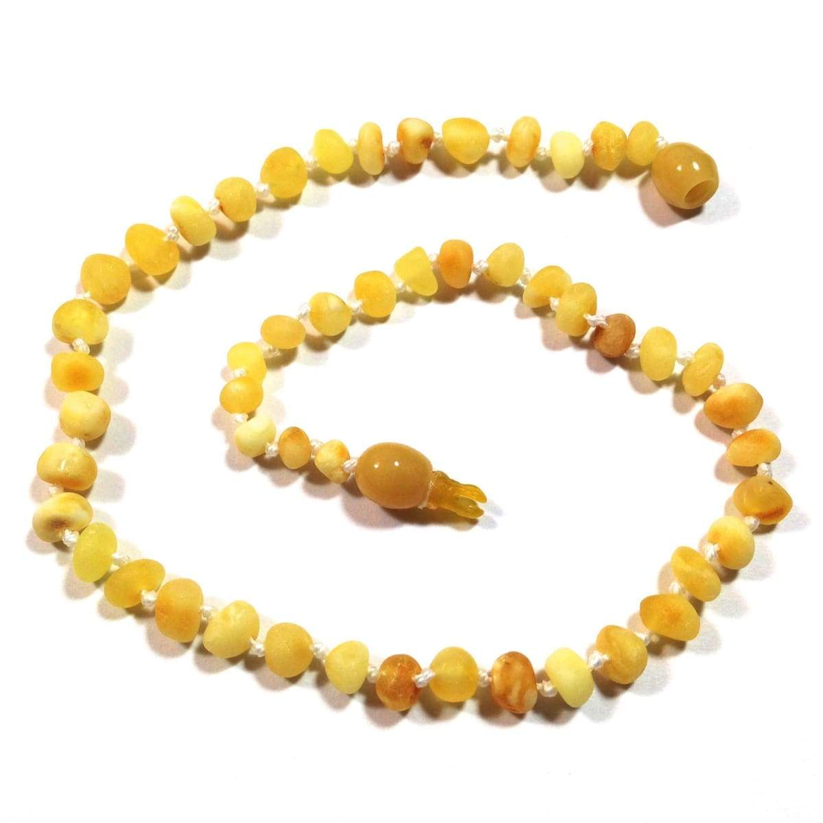 Baltic Amber Super Butter - 12 Necklace - Pop Clasp - Baltic Amber Jewelry