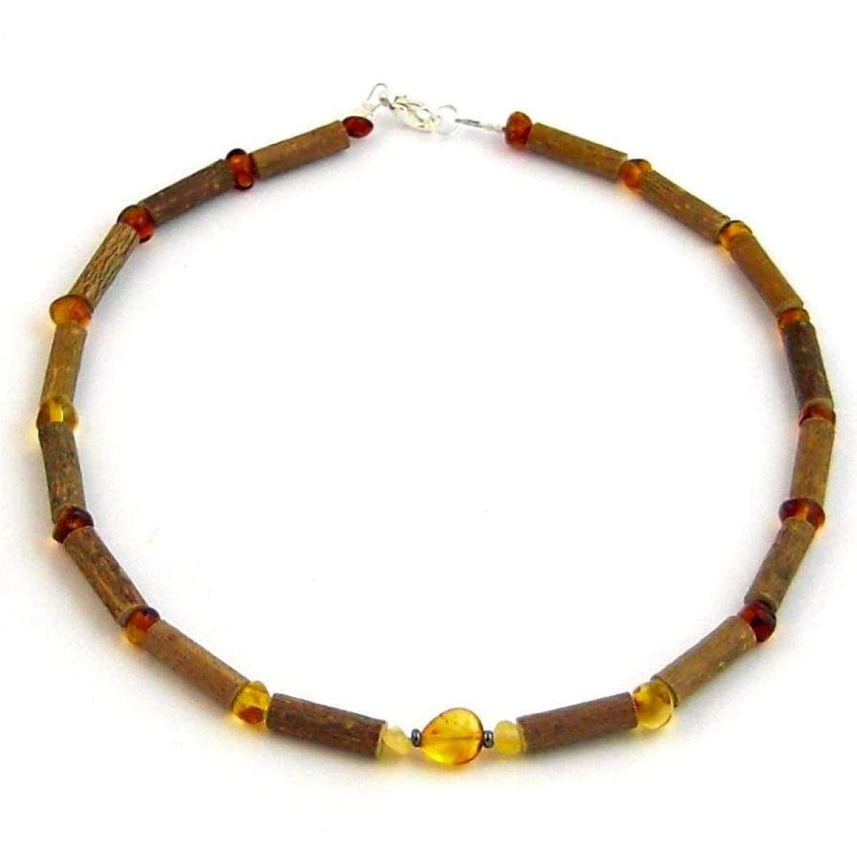 Hazel-Amber Honey Amber - 11 Necklace - Lobster Claw Clasp - Hazelwood & Baltic Amber Jewelry
