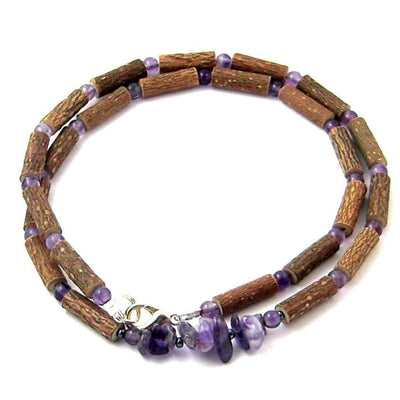 Hazel-Gemstone Amethyst Chip - 16 Necklace - Hazelwood & Gemstone Jewelry