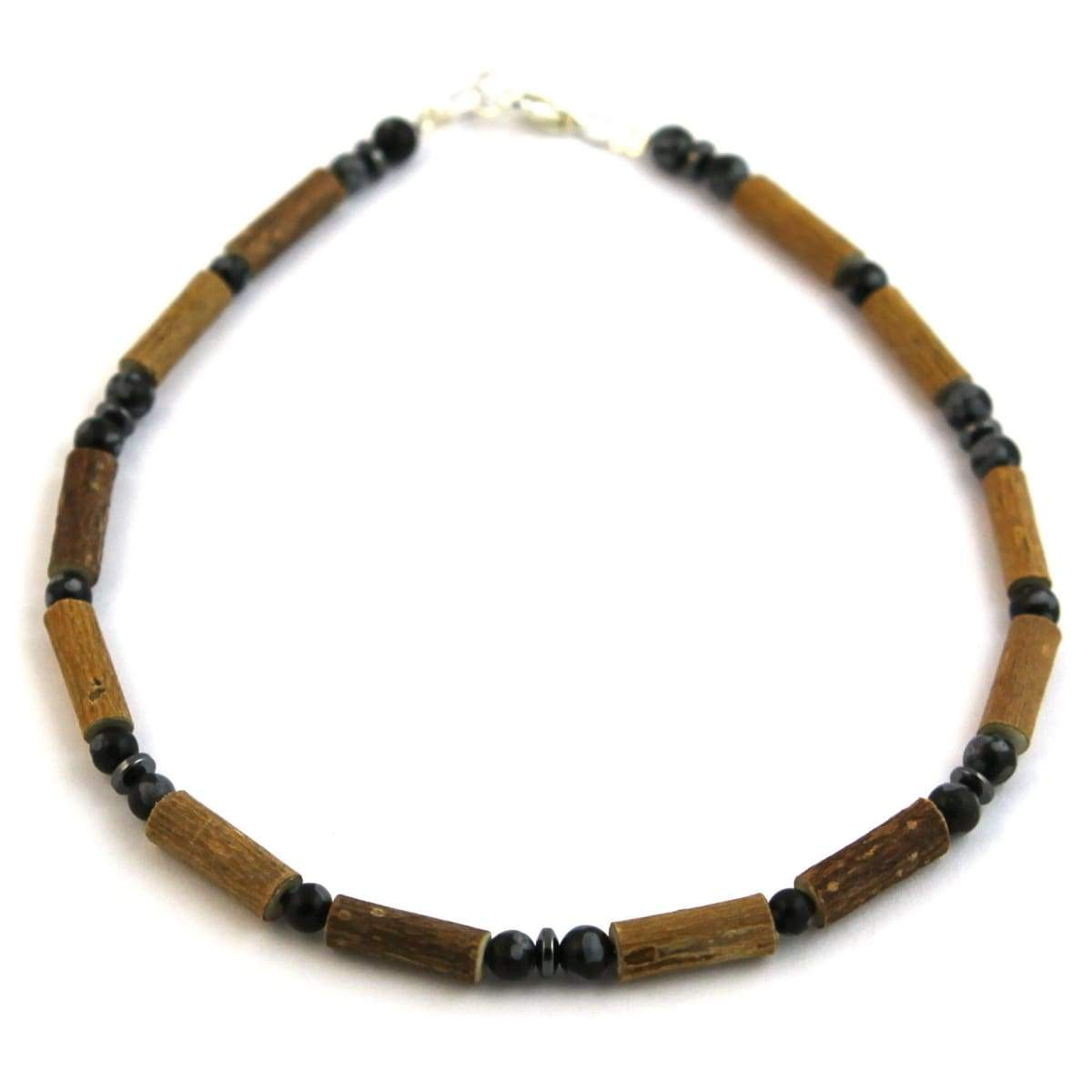 Hazel-Gemstone Black Obsidian - 11 Necklace - Lobster Claw Clasp - Hazelwood & Gemstone Jewelry