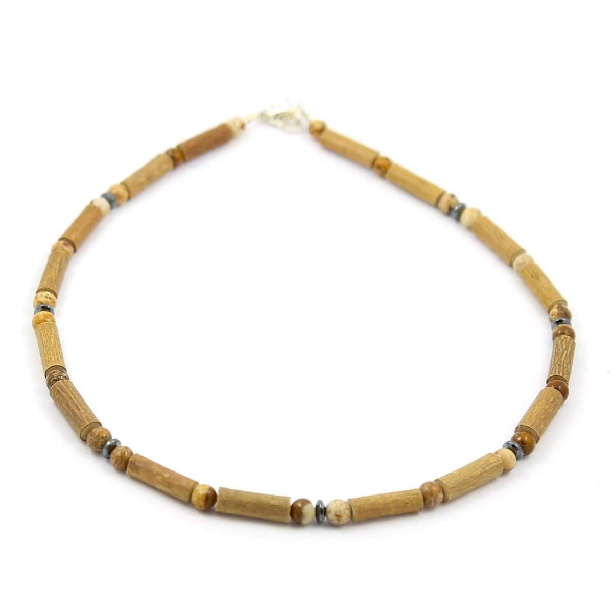 Hazel-Gemstone Natural Jasper - 11 Necklace - Lobster Claw Clasp - Hazelwood & Gemstone Jewelry