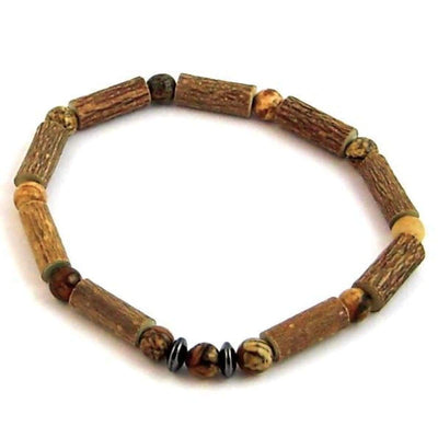 Hazel-Gemstone Natural Jasper - 7 Bracelet - Hazelwood & Gemstone Jewelry