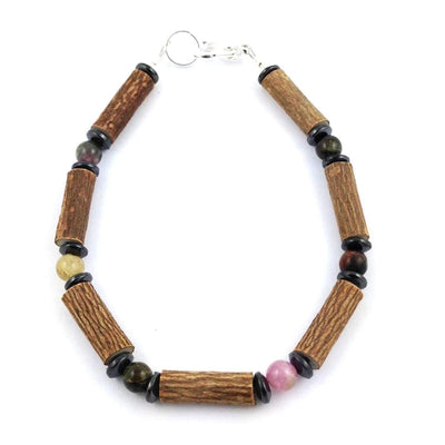 Hazel-Gemstone Tourmaline - 8 Bracelet - Hazelwood & Gemstone Jewelry